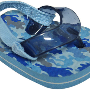 true ziggles blue flip flop baby crib shoe Case of 12