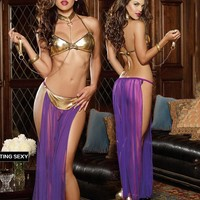 Cute On Sale Hot Deal Hot Sale Sexy Lace See Through Set Exotic Lingerie [6595819459]
