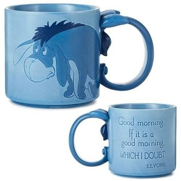Eeyore with Tail Handle Mug