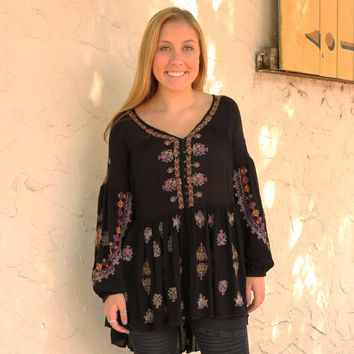 Arianna Tunic - Black by Free People