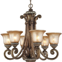 "0-032597>28""w Carlyle 6-Light Chandelier Verona"