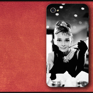 Breakfast at Tiffany's, Audrey Hepburn Phone Case iPhone Cover
