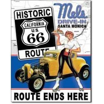 ROUTE 66 Ends MELS DRIVE IN