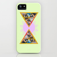 Surf Triangle iPhone Case by Caroline Provine | Society6