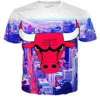 Chicago Bulls Windy City T-shirt
