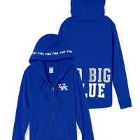 University of Kentucky Perfect Full Zip Hoodie - PINK - Victoria's Secret