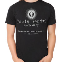 Death Note How To Use It T-Shirt