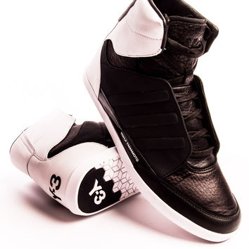 Y-3 Honja High Black/Run White/Black Sneaker