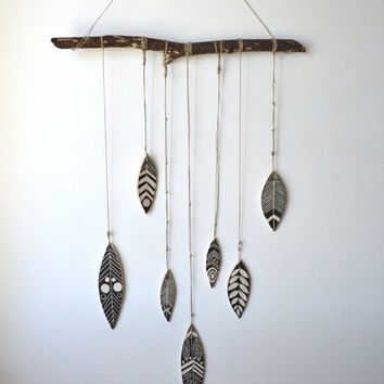 S H A M A N : handmade ceramic wall hanging