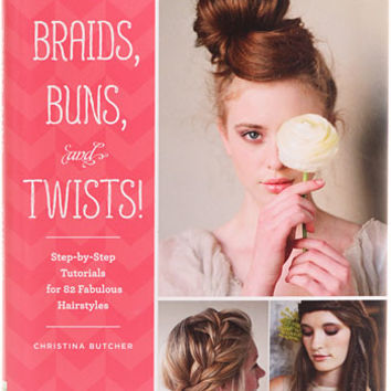 Braids, Buns, and Twists! DIY Hair Book - PLASTICLAND