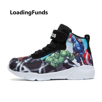 "Marvel ""AVENGERS"" Basketball Sneakers Kids/Adults"