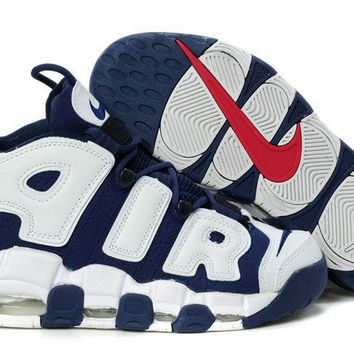 Where To Buy Nike Air More Uptempo Olympics Navy White ReD Brand sneaker