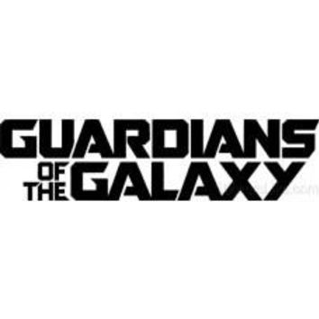 Guardians of the Galaxy console LOGO VINYL DECAL StickerCar Movie Marvel laptop car wall