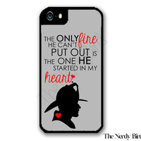 Firefighter Quote iPhone 4 or 5 Case