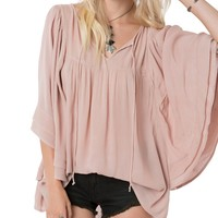 O´Neill Chet Double Layer Gauze Top | Dillards
