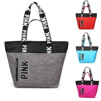 2018 Oxford PINK Multifunctional Outdoor Women Sport Bag Training Gym Bag Women's Sports Handbags Fitness Bag For Women