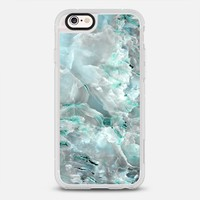 Teal Onyx Marble iPhone 6s case by Marblous | Casetify