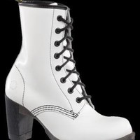 Dr. Martens Diva Darcie 8-Eye Boot WHITE SMOOTH Accessories