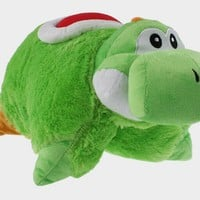 Yoshi Pillow Super Mario Bros Stuffed Cushion Pillows Plush Doll Toy