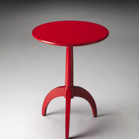 Butler Loft Burbank Red Accent Table