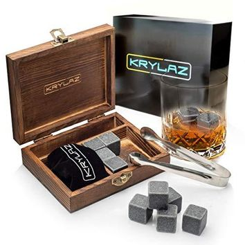 Whiskey Stones - Chilling Stones - Whiskey Gift Set - Whiskey Scotch Stones Set - Irish Whiskey Stones for Men - Drink Stones Whiskey Rocks set - Scotch Rocks - Whisky Stones set