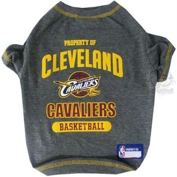PEAPYW9 Cleveland Cavaliers Pet T-Shirt