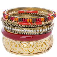 Miselda Bracelet - Red
