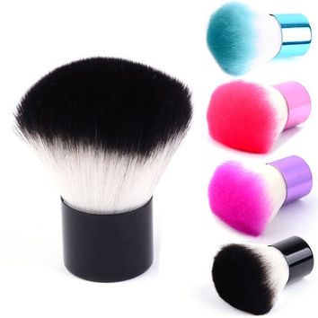 deals] Pro Kabuki Makeup Brush Foundation Blusher Face Eyes Powder Cosmetic 4 Colors 7_S [8824203335]