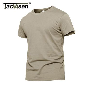TACVASEN Summer New Arrival T Shirt Men Army Tactical Breathable Military Quick-Drying T Shirts Men Plus Size Tshirt TD-WHCM-004