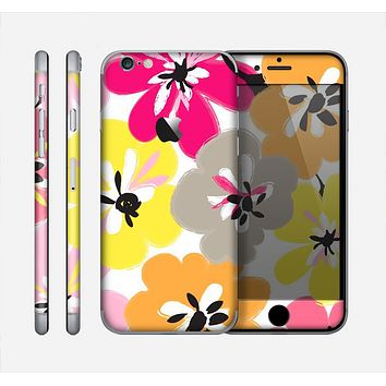 The Bright Summer Brushed Flowers  Skin for the Apple iPhone 6