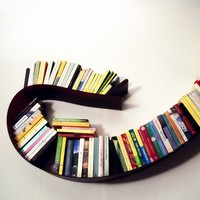 Kartell Bookworm Shelf - Small, Matte White