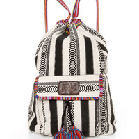 Billabong Caravan Backpack - Striped Backpack - Tribal Print Backpack - $39.50