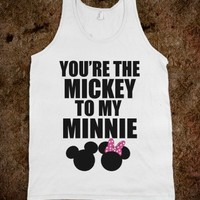 You're The Mickey To My Minnie <3 - Underline Designs