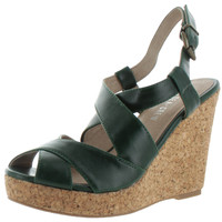 Chelsea Crew T-Time Women's Cork Wedge Sandals Shoes