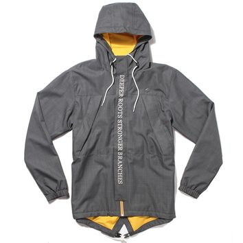 LRG - LRG Roots Foundation Jacket - Dark Charcoal