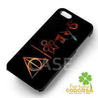 Harry Potter Symbols - azia for  iPhone 4/4S/5/5S/5C/6/6+,Samsung S3/S4/S5/S6 Regular/S6 Edge,Samsung Note 3/4