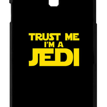 Star Wars Trust Me I am Jedi Samsung Galaxy S4 Cases - Hard Plastic, Rubber Case