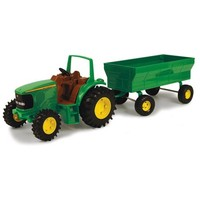 John Deere Tractor with Wagon Play Set - Walmart.com