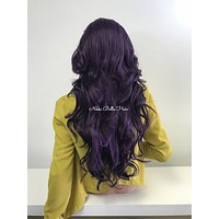 Purple lace front wig - Snob