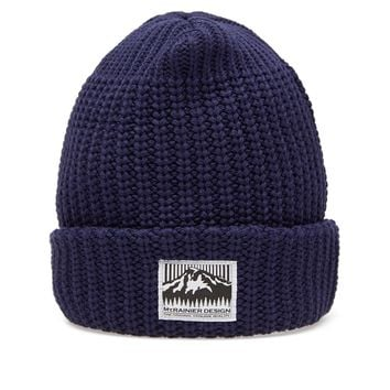 Mt. Rainier Design Knit Hat