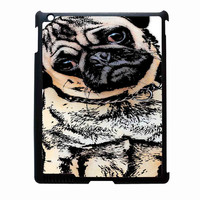 pugs alot dog FOR IPAD 2/3/4 CASE *02*