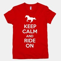 Keep Calm and Ride On (Junior) | HUMAN