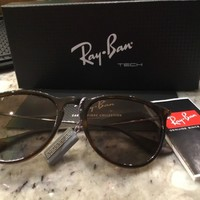 Women's Ray Ban Erika Polarised Sunglasses RB4171 710/T5 Brand New Tag on receip
