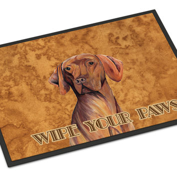 Vizsla Indoor or Outdoor Mat 18x27 Doormat