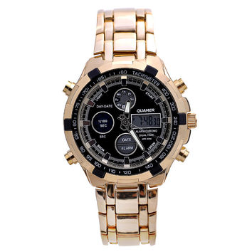 Trendy Good Price Designer's New Arrival Gift Awesome Great Deal Stylish Fashion Men Watch LED Men Stainless Steel Band Luxury Waterproof Watch [4919936452]