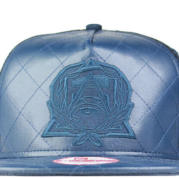 Secret Society x New Era LUX Trucker Snapback - Navy