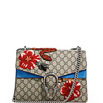 Gucci - Dionysus GG Supreme Canvas Embroidered Shoulder Bag - Saks Fifth Avenue Mobile