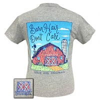 SALE Girlie Girl Preppy Barn Hair Don't Care Youth T-Shirt