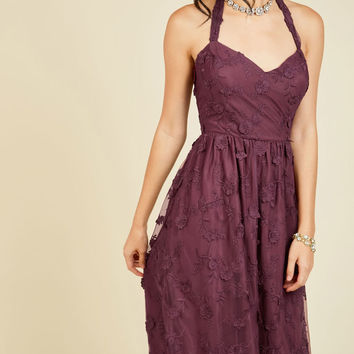 Ladies and Genteel Midi Dress