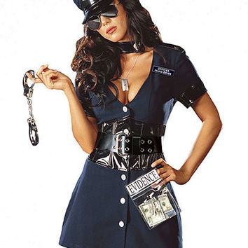 Corrupt Cop Costume | Sexy Clothes Womens Sexy Dresses Sexy Clubwear Sexy Swimwear | Flirt Catalog